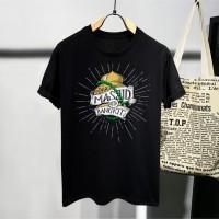 T-shirt Masjid Bangkit / Baju Kaos Dakwah Pria / Kaos Islamic Pria