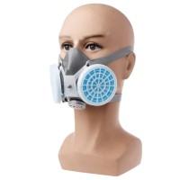 POWECOM Masker Gas Respirator Anti-Dust Industrial Mask - 8006