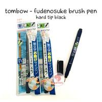 Zoetoys Tombow - Fudenosuke Brush Pen (Tip Black) | mainan edukasi