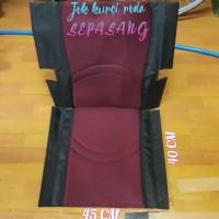Jok kursi roda semi travel,alumunium sepasang,sparepart kursi roda