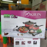 Kirin Gordang Series | Panci Set 9pcs