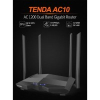 TENDA AC10 - Tenda AC10U Router Wireless