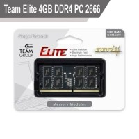SODIMM Team Elite 4GB DDR4 PC 2666