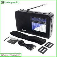 Tens Radio 11 Band, AC/DC, Micro SD/USB MP3 TSR-823 AM FM