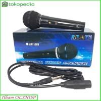 Mic microphone AIWA AW 108B mikrofon murah kualitas bagus