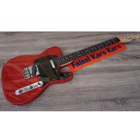 Gitar Fender Telecaster Merah limited