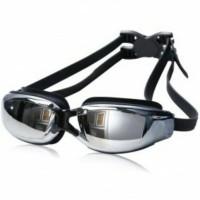 G7800M Kacamata Renang Minus 3.0 Anti Fog & UV Protection