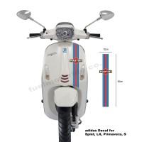 Sticker Decal Martini Strip Vespa LX Primavera Sprint S jap cafe racer