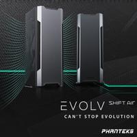 Phanteks Enthoo Evolv Shift AIR BLACK - Tempered Glass Mini-ITX Case
