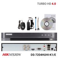 HIKVISION DVR DS-7204HUHI-K1/E 4channel upto 8megapixel built in sound