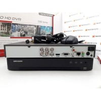 DS-7204HQHI-K1/E - HIKVISION TURBO HD DVR - SUPPORT AUDIO OVER COAXIAL
