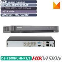 DVR Hikvision DS-7208HUHI-K1/E 8CH \\ 7208HUHI K1/e Original