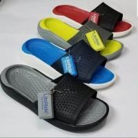 Sandal Crocs Pria Literide Slide Man