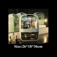 makeup storage cosmetic box travel beauty case / rias tas kosmetik