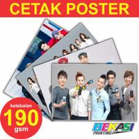 Harga cetak poster a3 art