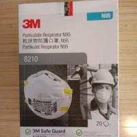 MASKER 3M PARTICULATE RESPIRATOR MASK N95 ANTI VIRUS CORONA SAFETY