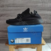 Adidas Deerupt Runner Full Black Size US 10.5