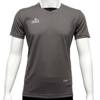 Specs Patron Jersey (Kaos Olahraga) - Grey/Black