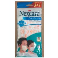 Masker Nextcare 3M Daily Kids MASK CORONA NO SENSI 3M N95 SKRINEER