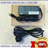 Adaptor Charger Laptop Original Lenovo Ideapad G40-30 20V-3,25 65W USB