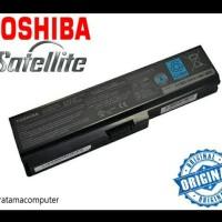 Baterai Toshiba ORIGINAL L630 L635 L640 L645 L650 L655 PA3817