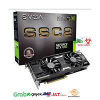 VGA EVGA GEFORCE GTX 1060 SSC2DT GAMING 06G-P4-6665-KR 6GB GDDR5 iCX