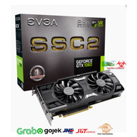 VGA EVGA GEFORCE GTX 1060 SSC2 GAMING 06G-P4-6667-KR 6GB GDDR5 iCX