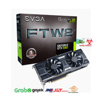 VGA EVGA GEFORCE GTX 1060 FTW2 GAMING 06G-P4-6768-KR 6GB GDDR5 iCX
