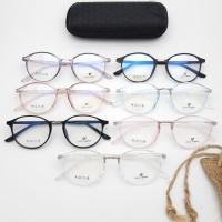 Frame Kacamata Bahan lentur + free lensa minus