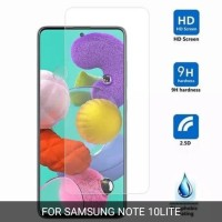 SAMSUNG NOTE 10 LITE TEMPERED GLASS CLEAR BENING SCREEN PROTECTOR