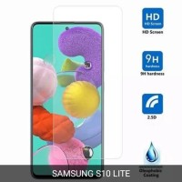 SAMSUNG GALAXY S10 LITE TEMPERED GLASS CLEAR BENING SCREEN PROTECTOR