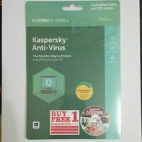 Kaspersky Antivirus 2018 1 User KAV