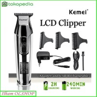 Hair Clipper Kemei Detailer KM-5027 Mesin Cukur Rambut Cordless