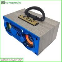 Speaker Portabel Bluetooth FLECO F4 BT / FM Radio / USB Super Bass