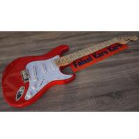 Gitar Fender Stratocaster Merah Limited Stok