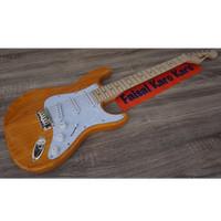 Gitar Fender Stratocaster New Kuning Limited Stok