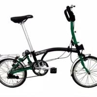 TERBARU!! Sepeda Lipat Element Pikes 5s dengan Handle Bar Butterfly