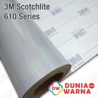 Scotchlite 3M 610 SERIES REFLECTIVE MATA KUCING WHITE 60 cm ROLL