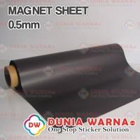 Magnet Lembaran 0.5 mm 1 meter Promosi Dekorasi Advertising Polos