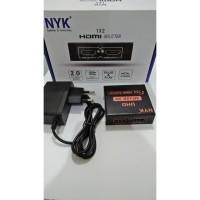 NYK HDMI Splitter 2 Port - HDMI Splitter NYK 2 Port