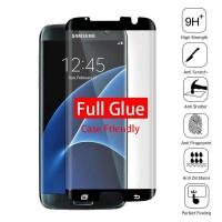 Tempered Glass Samsung S7 Edge Full Glue - Full Layar - Full Lem