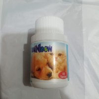 vitamin kucing anjing fish oil salmon plus omega 50 tablet rainbow