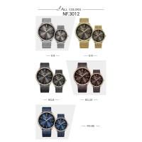 Jam tangan couple naviforce original sepasang stainless strap
