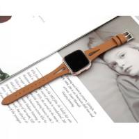 strap fitbit versa leather fashion tali jam tangan kulit wanita