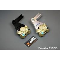 Breket Kaliper WR3 Belakang Yamaha XSR 155 With Brembo 2P1P