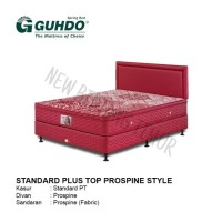 Spring Bed Guhdo New Standard Plush Top 120 x 200 HB Prospine Full Set