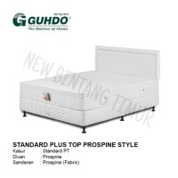 Spring Bed Guhdo New Standard Plush Top 160 x 200 HB Prospine Full Set
