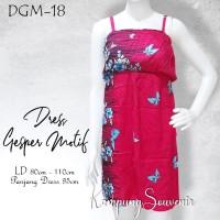 DRESS GESPER MOTIF DGM-18 BEST KAMPUNG SOUVENIR