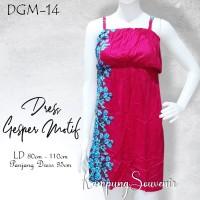 DRESS GESPER MOTIF DGM-14 BEST KAMPUNG SOUVENIR
