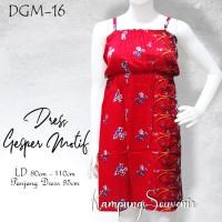 DRESS GESPER MOTIF DGM-16 BEST KAMPUNG SOUVENIR